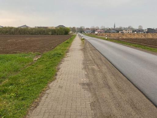 Gehweg am Erlter Esch wird saniert und ausgebaut