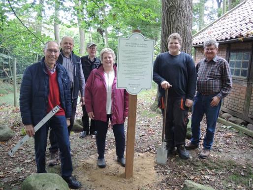 Neue Info-Schilder bei Sehenswürdigkeiten in der Gemeinde Visbek