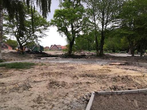 Aus der Großbaustelle wird langsam wieder ein Park