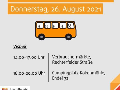 Mobile Impfstation in Visbek