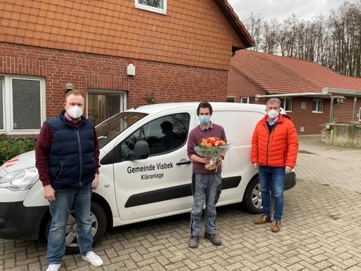 Gemeinde Visbek verabschiedet Pascal Gardeler