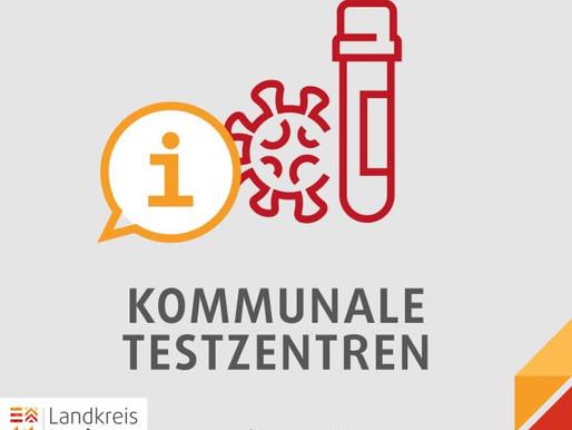 Kommunale Testzentren nehmen ab 16. März ihren Betrieb auf - jetzt mit Online-Terminreservierung!