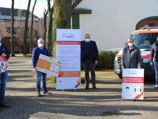 Kommunale Testzentren erhalten Spende