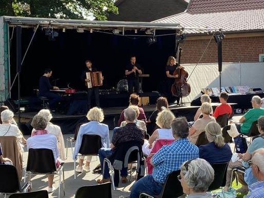 Open-Air-Konzert begeistert das Publikum