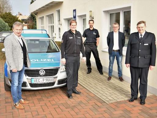Personeller Umbruch bei der Polizeistation Visbek