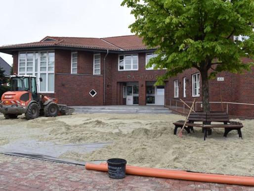 Strandfeeling am Visbeker Rathaus