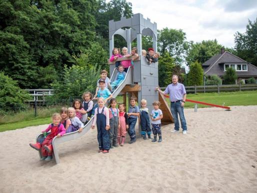 Spielplatz im Visbeker Park erweitert