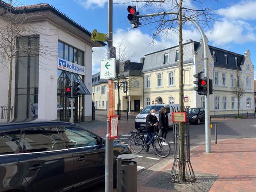 Ampelanlage im Ortskern von Visbek in Betrieb genommen