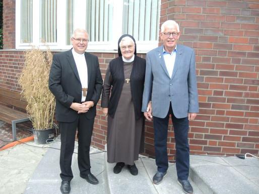 Visbeker Ehrenbürger zu Gast im Rathaus Visbek