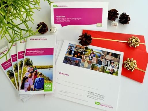 Das passende Weihnachtsgeschenk - Gutscheine für Gästeführungen der TI-Nordkreis Vechta erhältlich