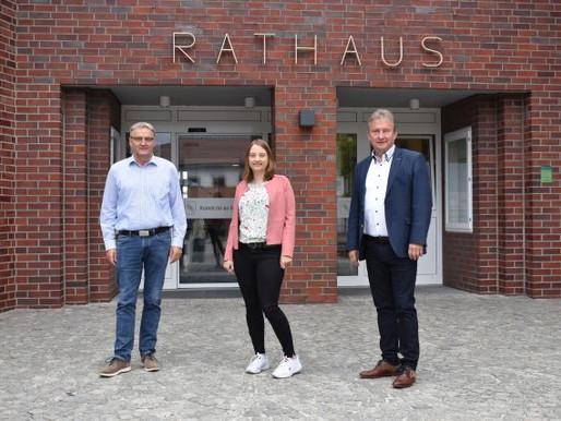 Christina Düser verstärkt das Team des Visbeker Rathauses