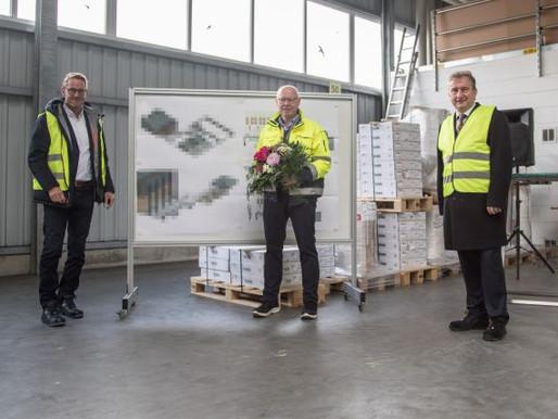 Rehau erweitert Logistikzentrum in Visbek
