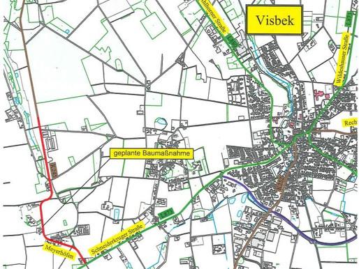 Anliegerinformation zur Fahrbahn- und Radwegsanierung in Visbek-Meyerhöfen