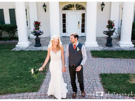 Magda and Mick's Niagara Summer Wedding