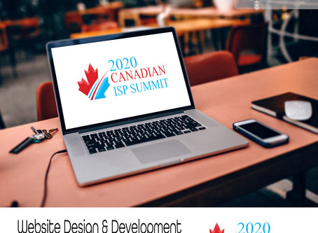ISP Summit website design & development services