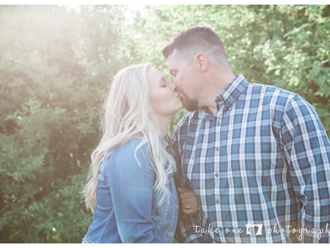 Caroline & Adam's Family Engagement Shoot Ashbridges Bay