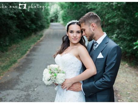 Iasmin and Kyle's Rustic Yacht Club Summer Wedding