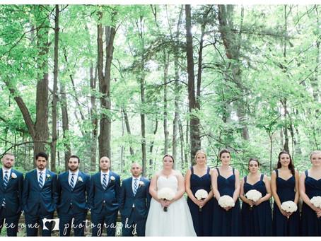 Sarah & Michael's Summer Rustic-Glam Wedding