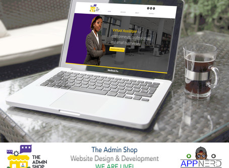 The Admin Shop - Website Design & Development