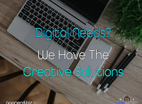 Digital Needs? We Have The Creative Solutions