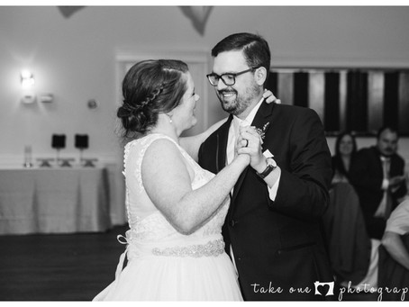 Kailey & Dave's Rustic Wedding at Three Bridges
