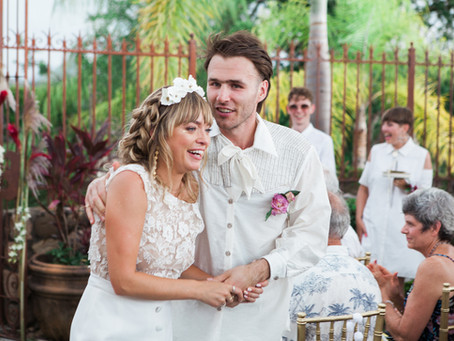 Chris & Britt's Hacienda Antigua, Mexico Wedding