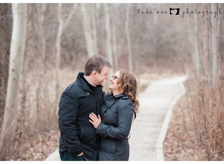 Rattray Marsh Winter Engagement Photography