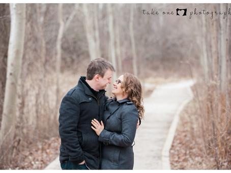 Rattray Marsh Winter Engagement Photography