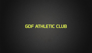 GDF Athletic Club Business Card (Front).