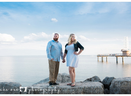 Hailey & James Engagement Shoot at Spencer Smith Park Burlington