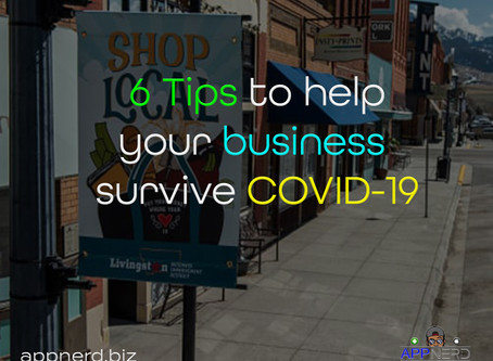 6 Tips to help your business survive COVID-19