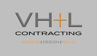VH+L Contracting - Business Cards (Front