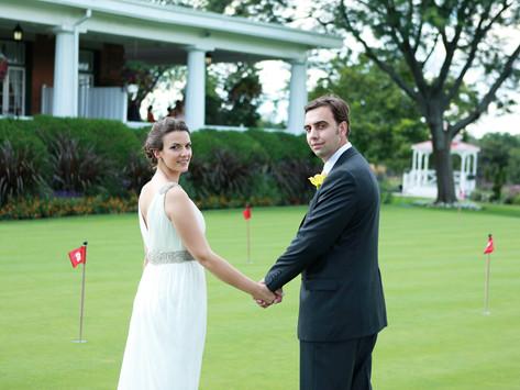Emily & Oleg, Golf & Country Club, Toronto