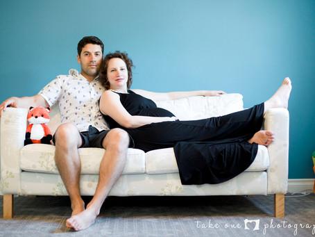Danielle & Willis' Maternity Lifestyle Session