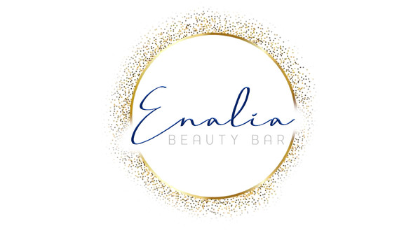 Enalia Beauty Bar - Business Cards (Fron