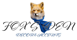 Fox's Den Decor & Accents Logo JPG (Blac