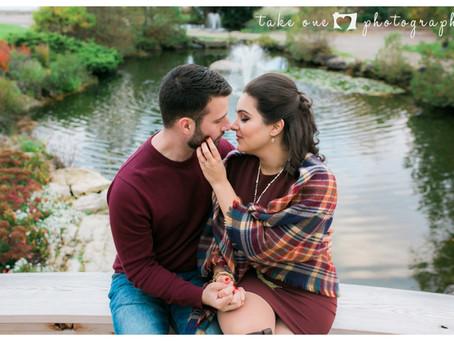 Marcella & Joshua's Engagement Photos at Gairloch Gardens