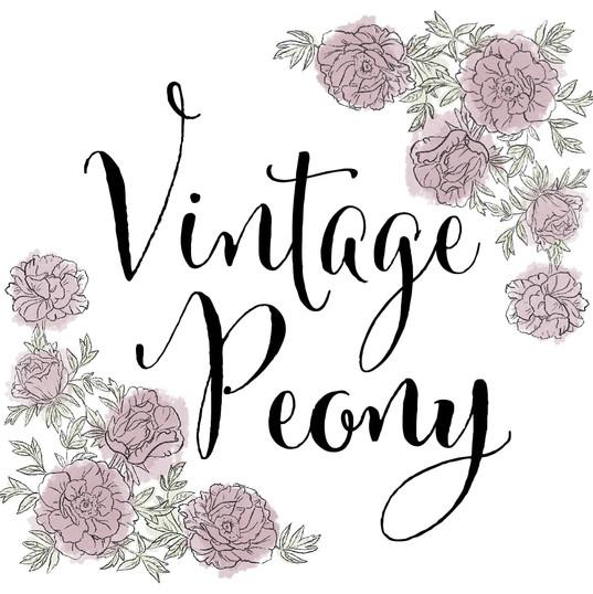 Vintage Peony