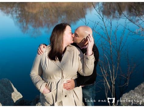 Sarah & Michael - Humber College Sunrise Engagement