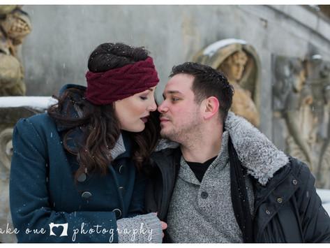 Katerina & Daniel's Winter Engagement
