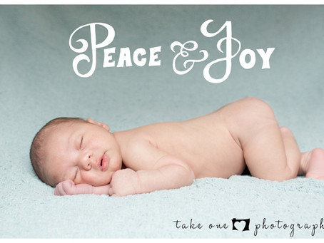 Charlie's Newborn Christmas Shoot
