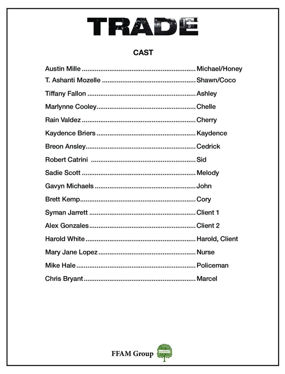 TRADE the film - Cast