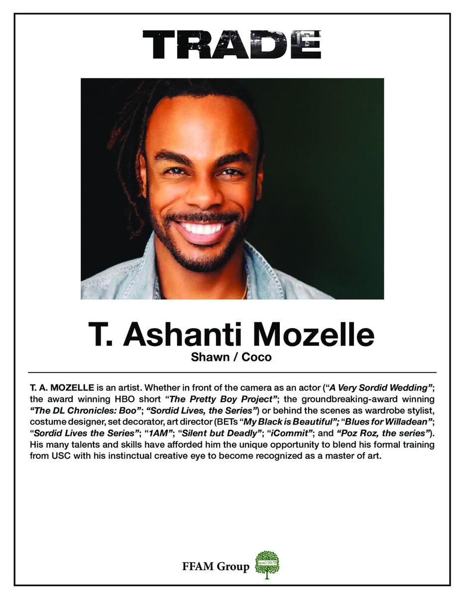 TRADE the film - T. Ashanti Mozelle as Shawn/Coco