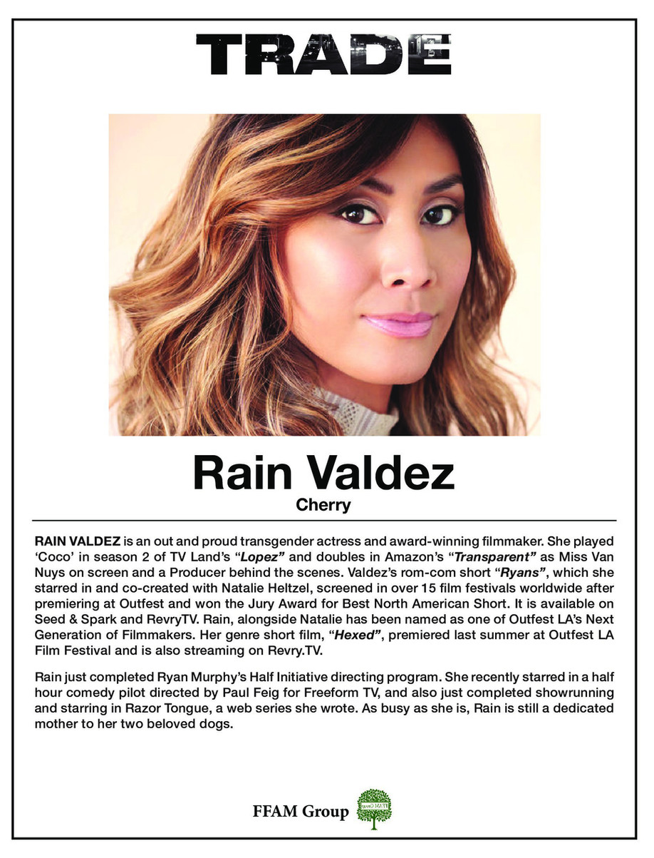 TRADE the film - Rain Valdez as Cherry