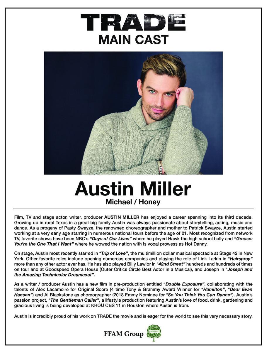 TRADE the film - Austin Miller as Michael/Honey