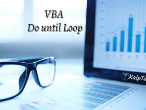 VBA Do until Loop