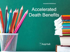Accelerated Death Benefit (ADB)