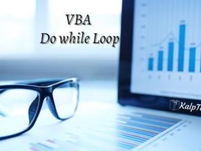 VBA Do while Loop