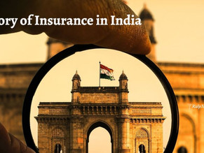 History of Insurance in India
