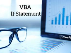 VBA If Statement